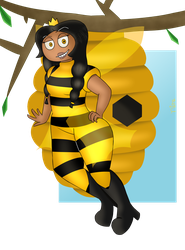 |Art Trade| Queen Bee by NineTenOnetyOne