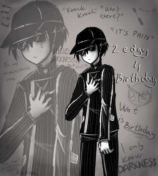 2 edgy 4 birthday by Kanmii