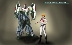 ROBOTECH: Spartan 001 by LeElf