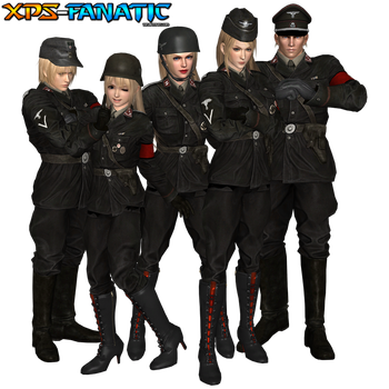 DOA5LR - SS Soldiers for XNALara/XPS by XPS-Fanatic