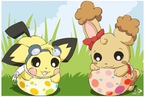 Easter Eggs by pichu90