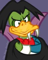 Count Duckula by JellySoupStudios