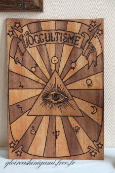 Panneau occultisme by GreatShinigami