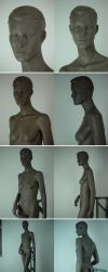 A female mannequin part2 by sculptor101