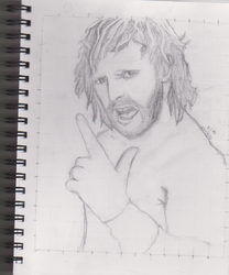 Kenny Omega by Leafos-is-trying