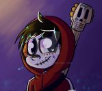 Skeleton Boy by ludmilabb2