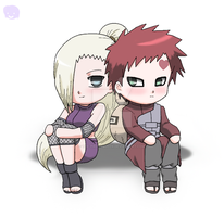Naruto+Couples: GaaIno by The-PirateQueen