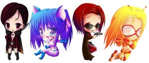 Themelonic's chibis by Tetiel