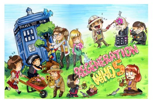 Regeneration Who 5 VIP artwork