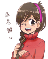 MABEL WITH BRAID by ChanceRei