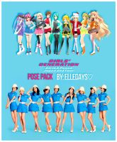 Q!Girls - ~Girls And Peace~ Japan 2nd Tour. by ElleDays