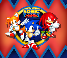 Sonic Mania by SA2OAP