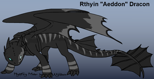 Rthyin 'Aeddon' Dracon : Dragon King by MegaMixStudios