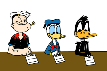 Crossovers and cosplays on looney4life deviantart 2gredvisions 13 55 popeye donald daffy writes letters to santa claus by marcospower1996 spiritdancerdesigns Choice Image