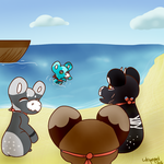 Day Seven Evoloon event by Neat-Cat
