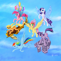 Time To fly! by Dalagar