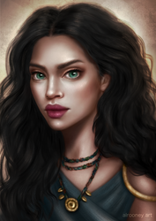 Iona [Commission] by Alrooney
