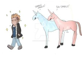 Edward Cullen....the unicorn? by KHwhitelion