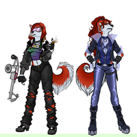 Alex and Axel by angelamyrose