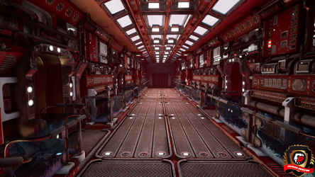 Unreal Engine 4 Old Ship by DaminDesign