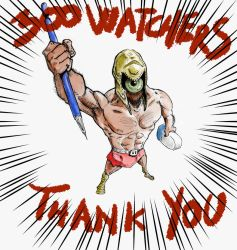 300 Watchers THANK YOU!!!!! by OcioProduction