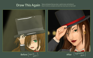 Draw This Again: Broadway Girl by Oweeo