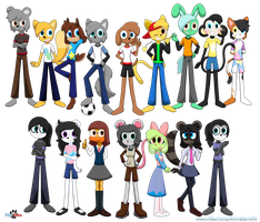 PlayZone Characters (Remake) by Aldin1996