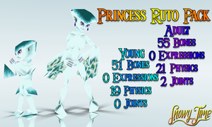 [MMD] Princess Ruto Pack : DOWNLOAD by SnowyTime