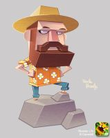 Monster Life - Uncle Handy by joslin