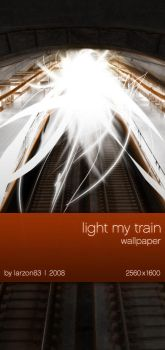 light my train wall by larzon83