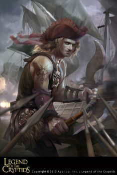 Legend of the Cryptids Pirate 1 by Ashramart