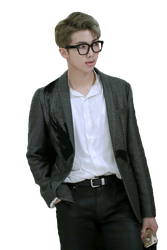 BTS Namjoon Rap Monster PNG Transparent background by zahrahope