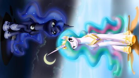 Night and Day by MykeGreywolf