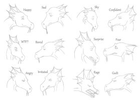 Temeraire Expressions by inkling13