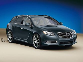 Buick Regal Wagon by Taglane