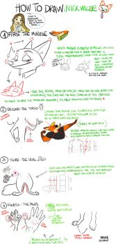 How to draw: Nick Wilde by Frava8