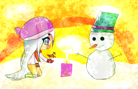 Some winter drawing by LunaticEggbread
