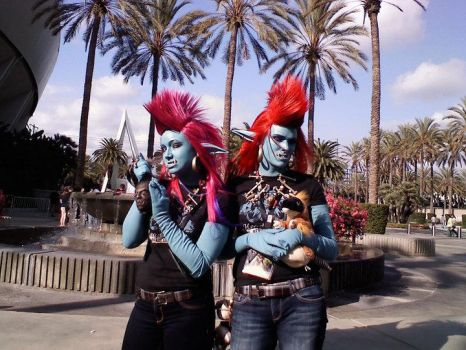 WoW Trolls by Egg-Sisters-Cosplay