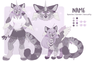 Silver Lilac Moonlight - Adopt Auction - Closed by Felispirit