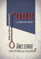 Alfred Hitchcock's Rope Poster by escdesigner