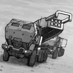 M142 HIMARS by hylajaponica