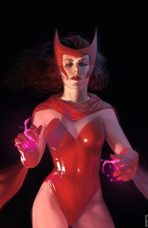 Scarlet Witch by ayhotte