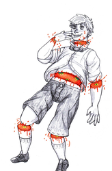 Goretober2018: Candy Gore by AllyN-One