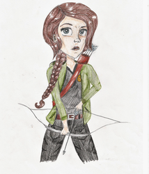Katniss Everdeen by LivreRose