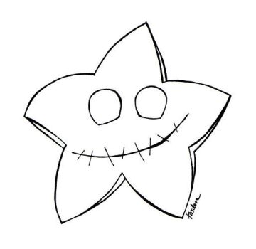color teh creepy star by tirsden