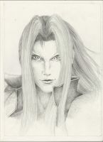 Sephiroth - FF VII by Lady-Sutcliff