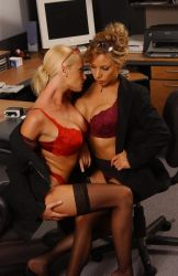 Hostile Corporate Takeover Catfight #7 by Catfight-Superstars