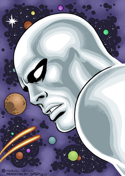 Silver surfer down by sebastianhaze