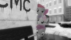 First gmod try - CMC in the town by Marcsello