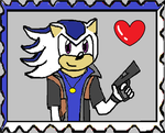 Chaz The Hedgehog Fan Stamp by KambalPinoy